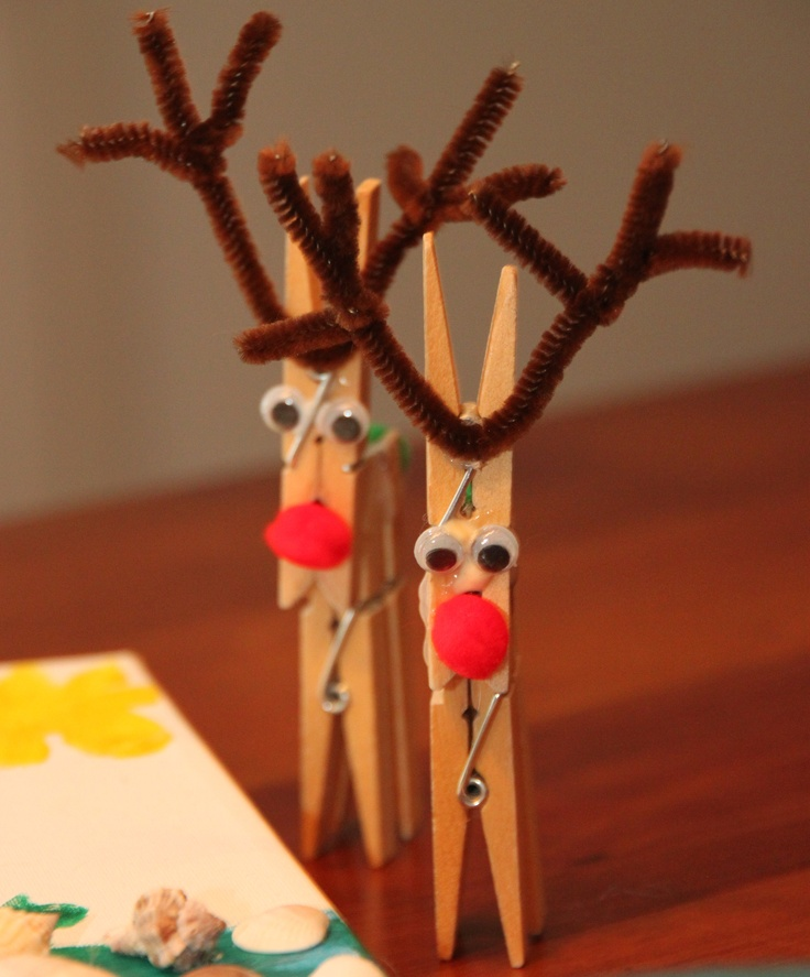 Clothespin Crafts Christmas Part - 41: Christmas