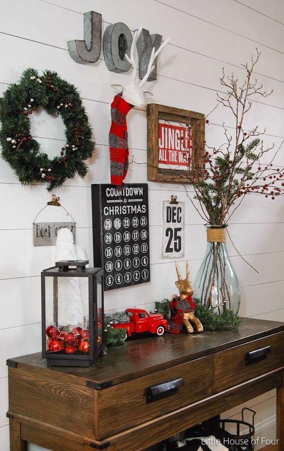 Top 40 Christmas Entryway Decoration Ideas Christmas