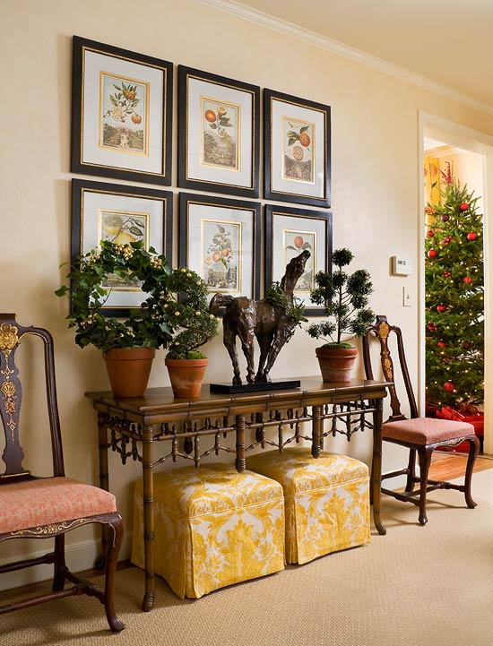 Foyer Christmas Decorating : Top christmas entryway decoration ideas