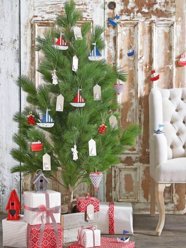 nautical christmas tree decor source - Nautical Christmas Decorations