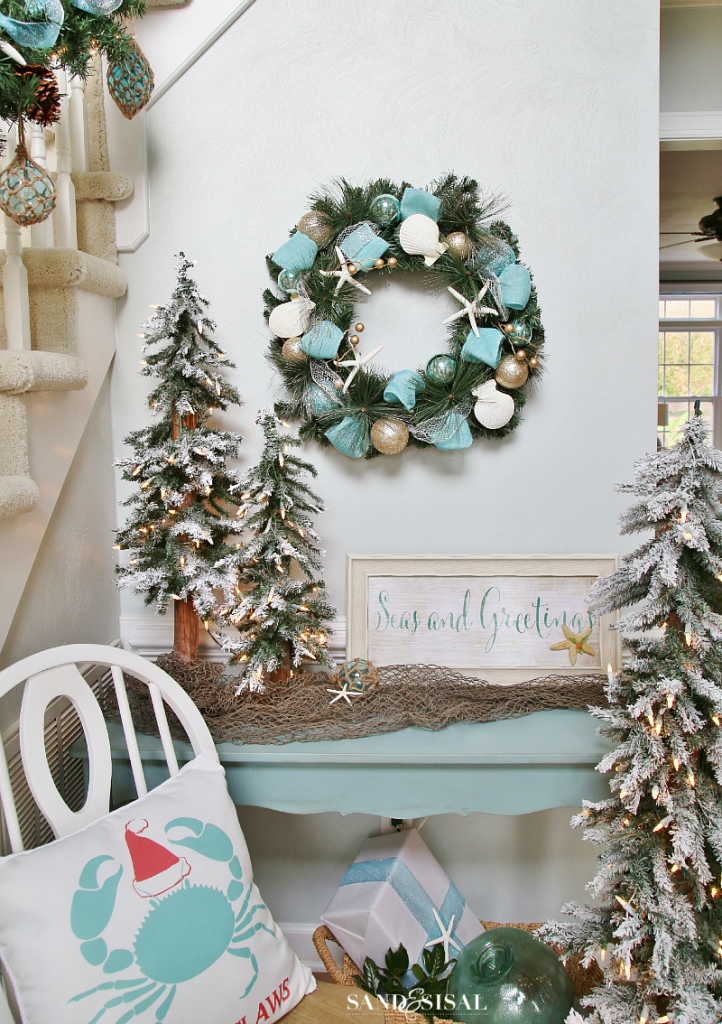 top 40 christmas coastal theme decoration ideas christmas