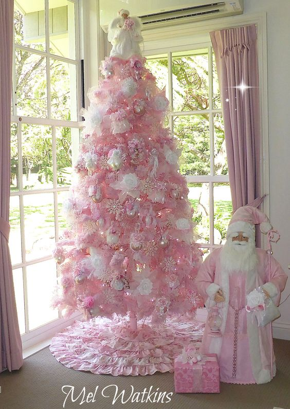 innovative design 4b6be 61f01 Top 40 Pink Christmas Trees - Christmas Celebration - All ...