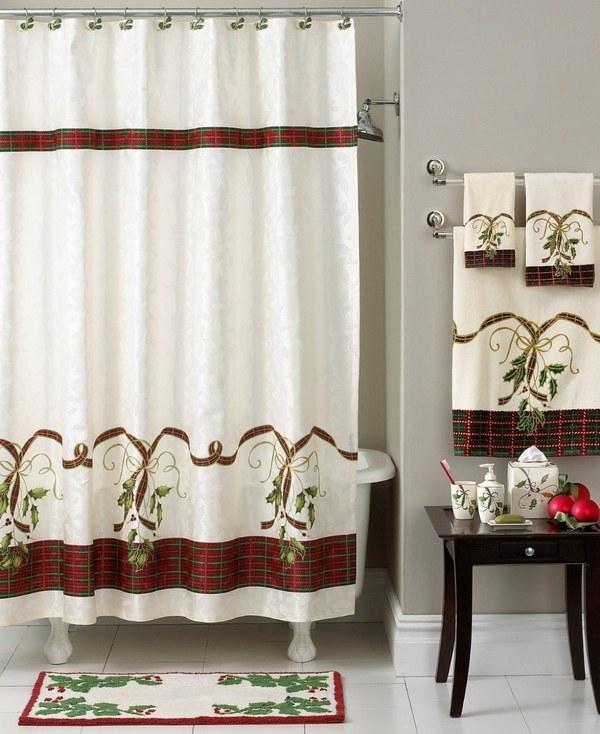 Top 35 Christmas Bathroom Decorations Ideas - Christmas Celebrations