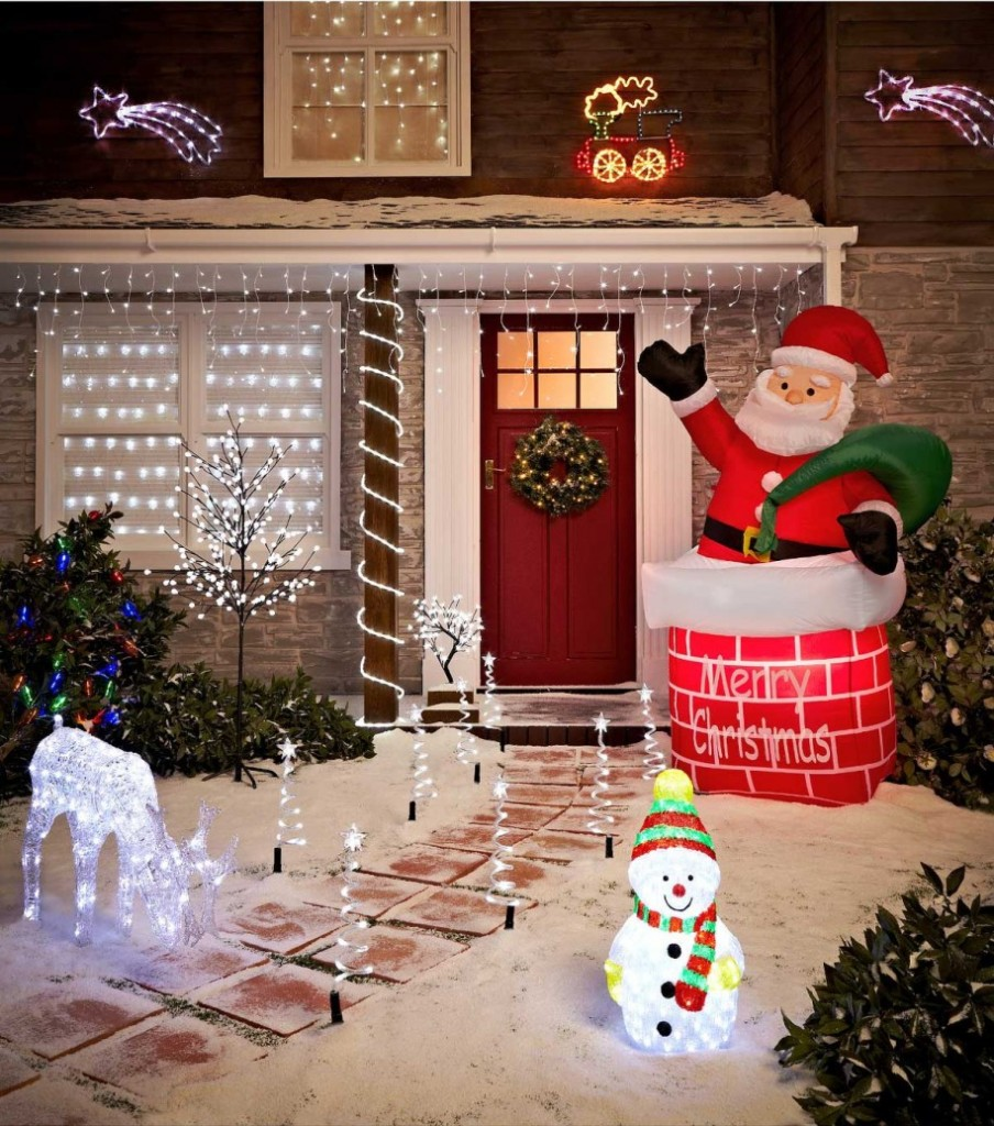 christmas decorations pdx decoration roof bzb claus outdoor on santa decor wayfair goods reviews