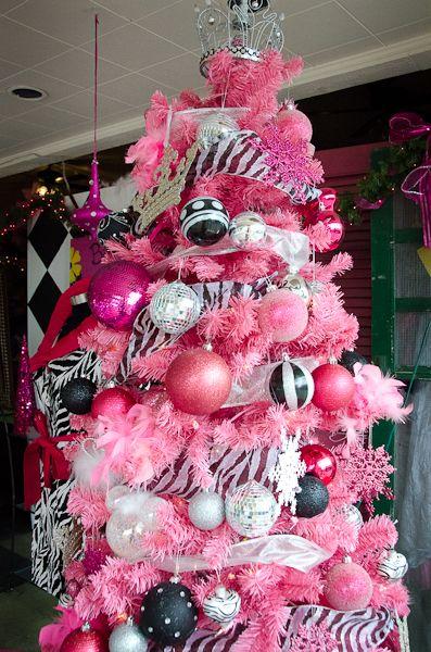 Pink And Black Christmas Tree Source