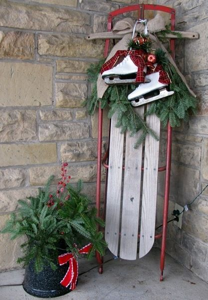 image source - Decorative Christmas Sleigh Large