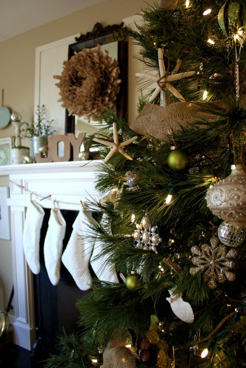coastal themed christmas tree image source