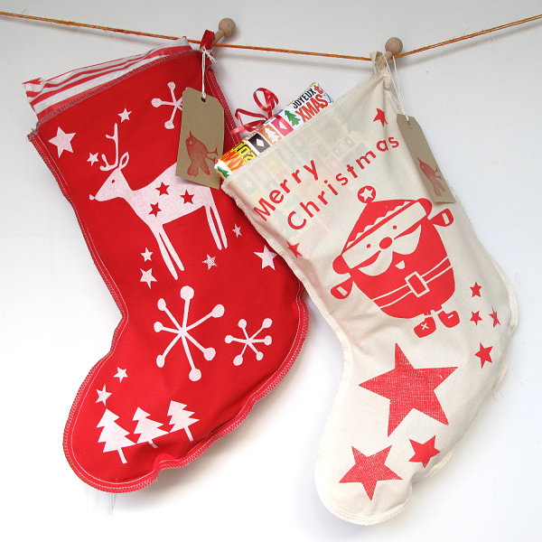 source - Decorating Christmas Stockings