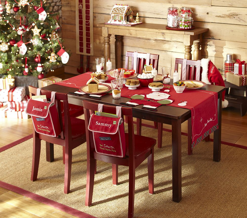 Red Dining Table Source