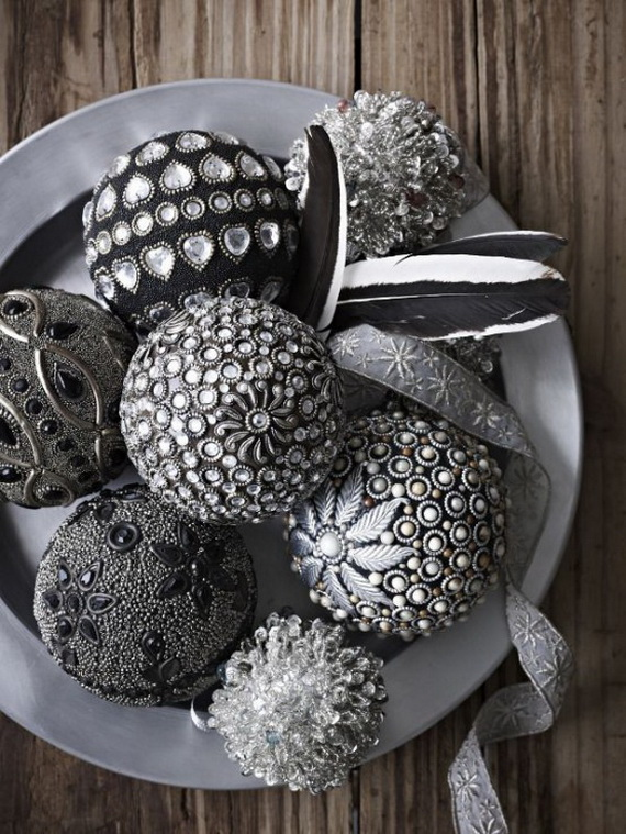 Top 40 Christmas Decoration Ideas In Gray Christmas