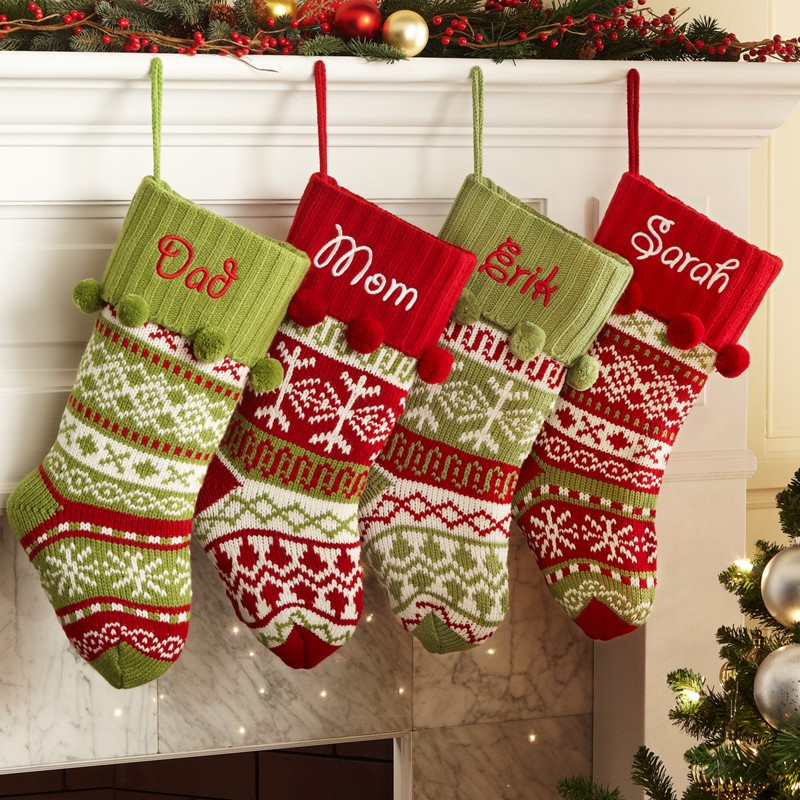 Top 40 Christmas Stockings Decoration Ideas - Christmas Celebration ...