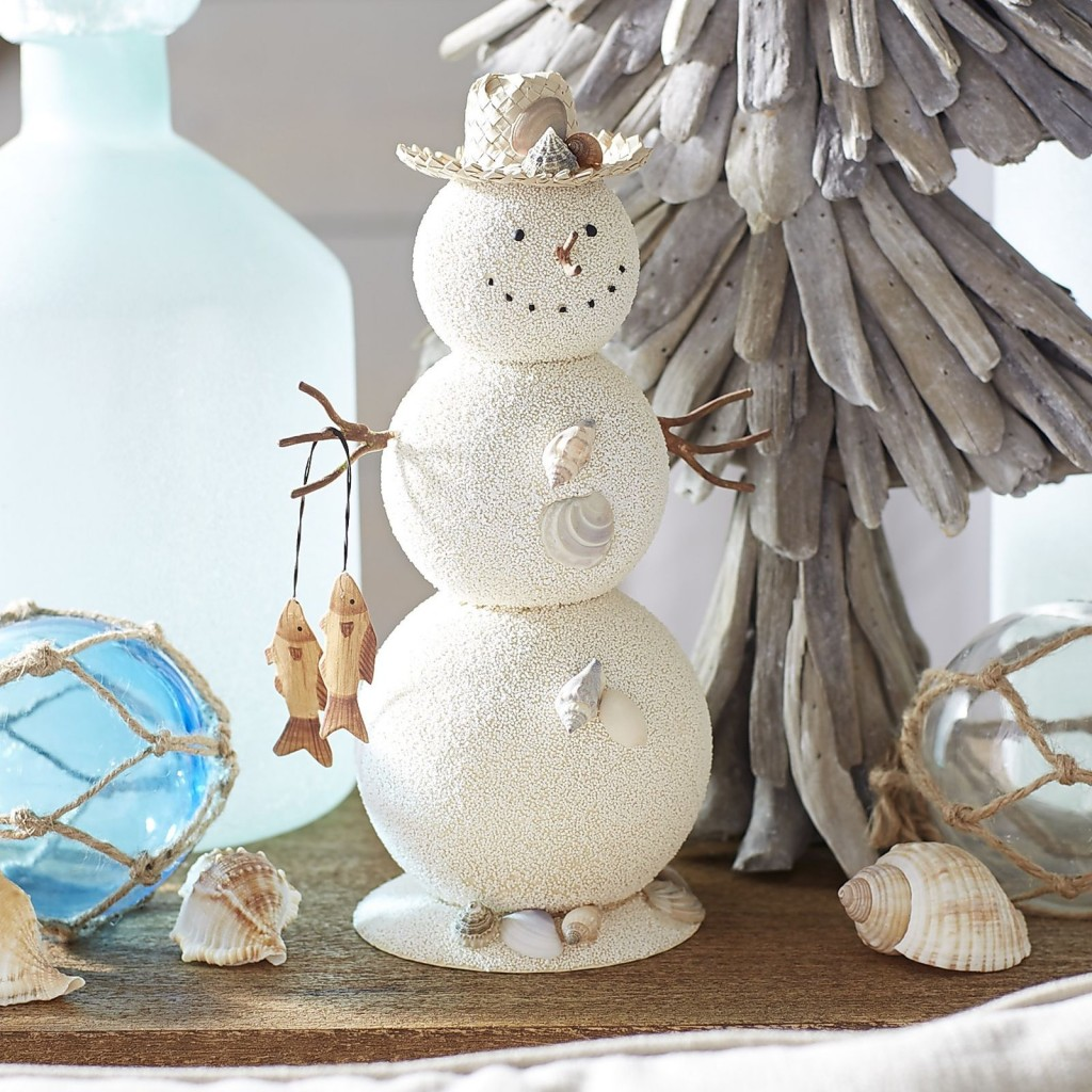 image source - Beach Themed Christmas Decorations