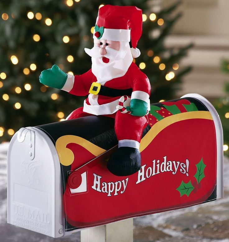 image source - Christmas Mailbox Decorations Ideas