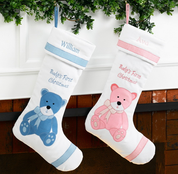stockings for babys first christmas source