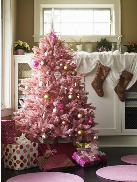 source source adorn your pink christmas - Pink And Gold Christmas Decorations