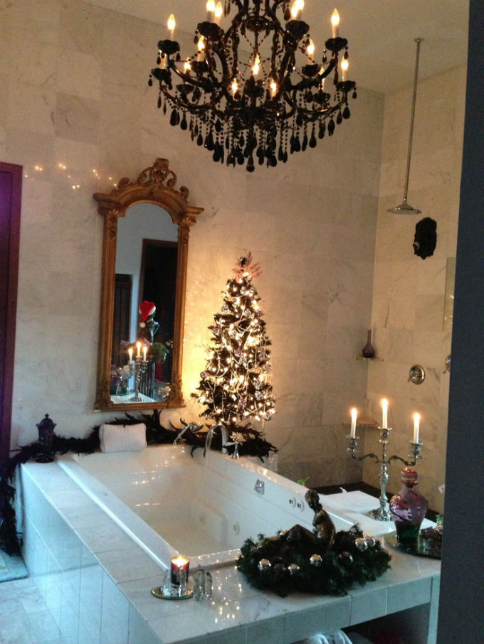Christmas Bathroom Decor : Top christmas bathroom decorations ideas