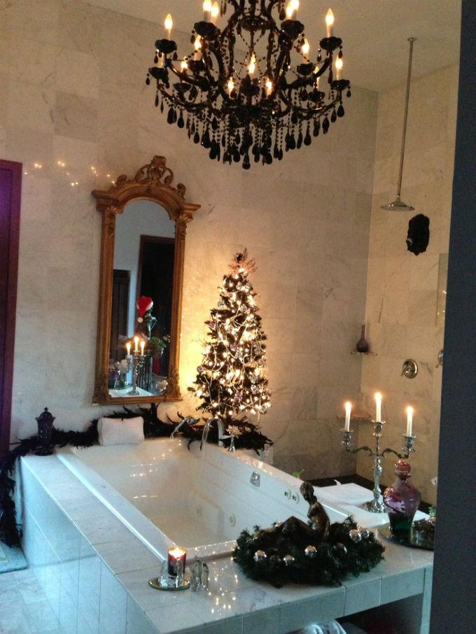 astonishing decorating your bathroom ideas | Top 35 Christmas Bathroom Decorations Ideas - Christmas ...