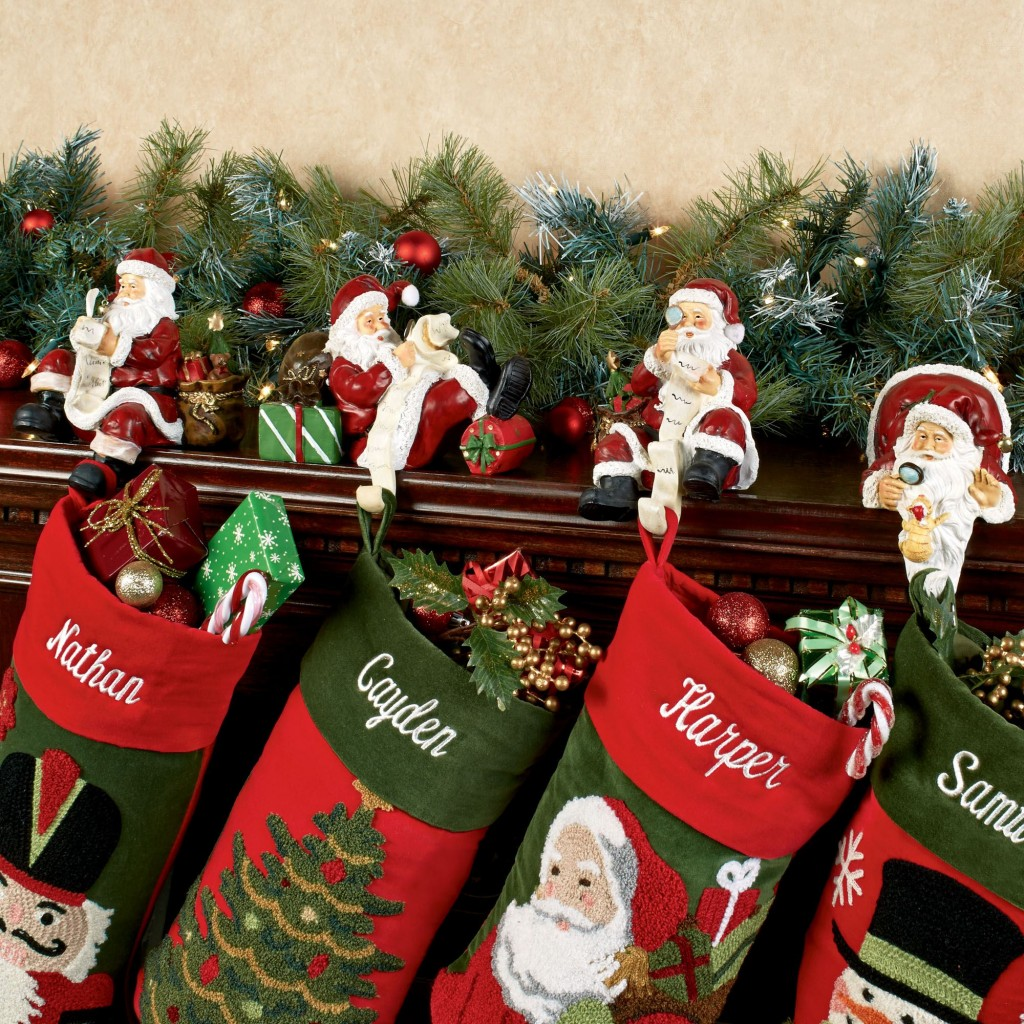 topper decor santa decoration vintage claus tree product inch look red decorations luxury web