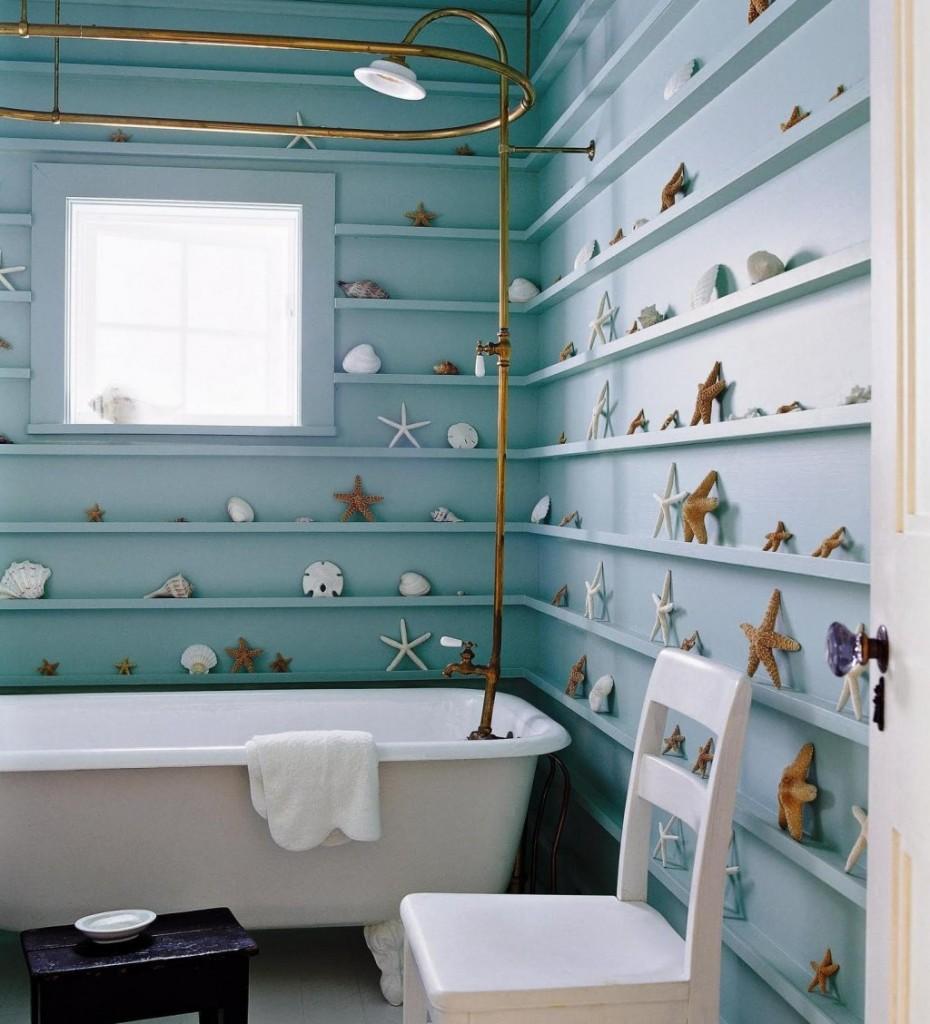 Christmas bathroom decor - Source