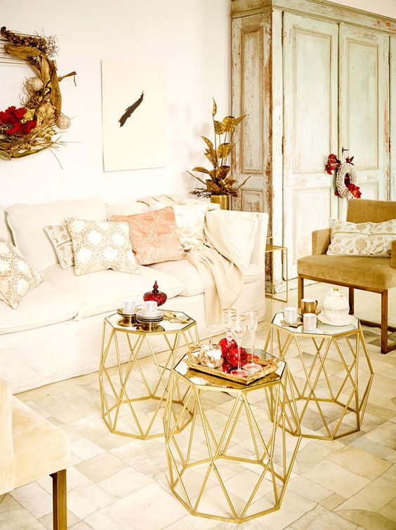 pin and black city home big bring decor style gold metallic bedroom living white room with