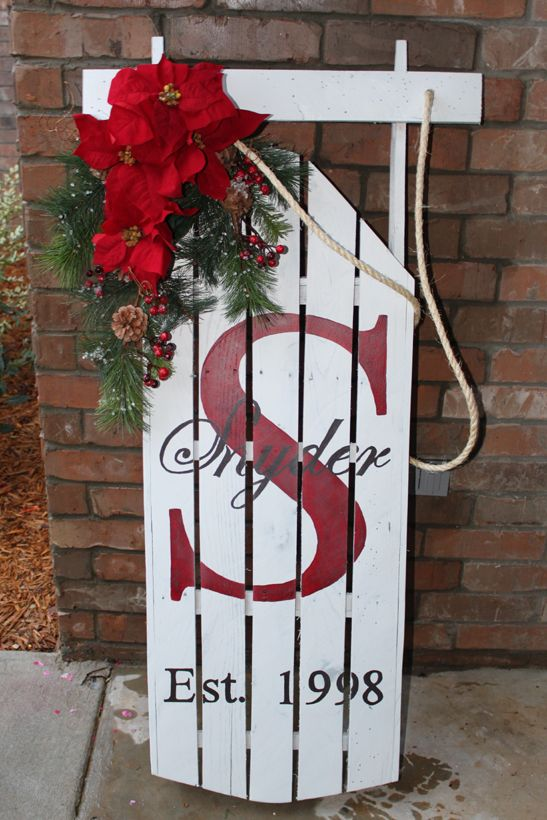 Top 40 Sleigh Sled Decoration Ideas For Christmas Christmas