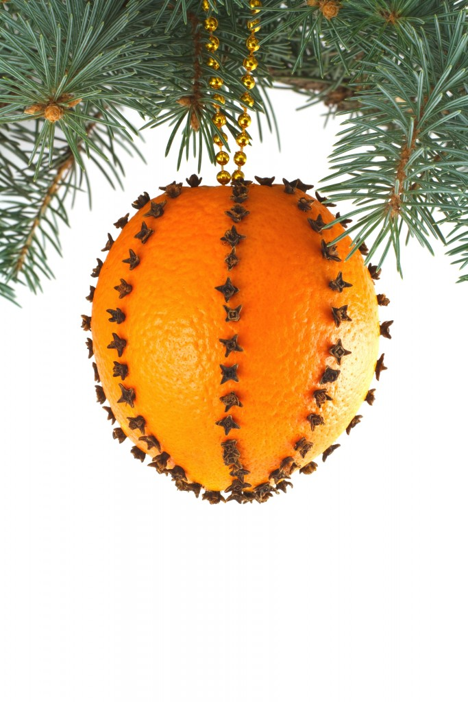 Image result for orange christmas ornament