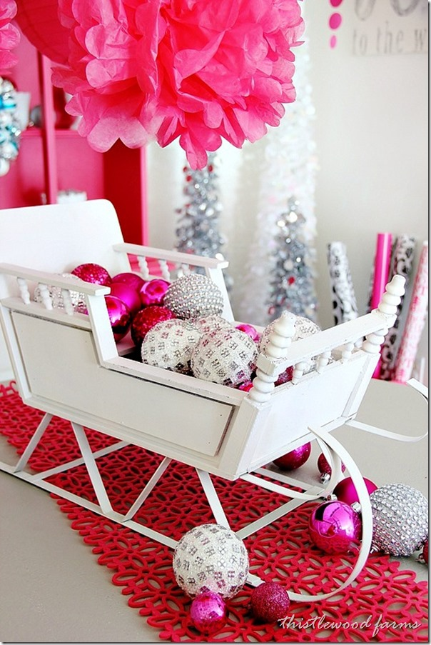 Top Sleigh Decorations Christmas Celebration All About
