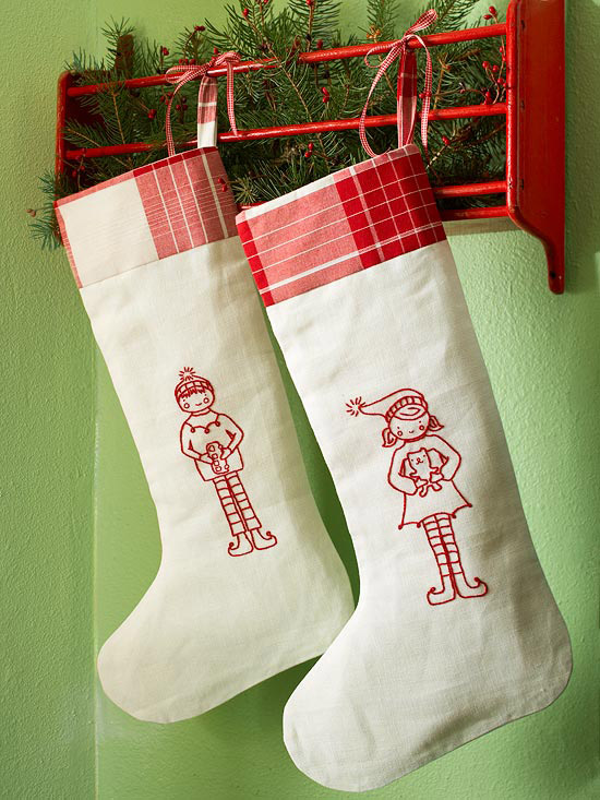 Top 40 Christmas Stockings Decoration Ideas Christmas