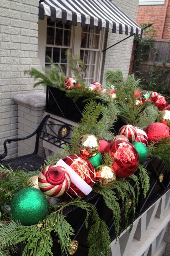 Top Christmas Balcony Decorations Christmas Celebration All