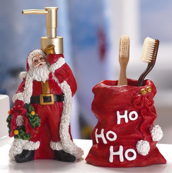 source - Christmas Bathroom Decorations