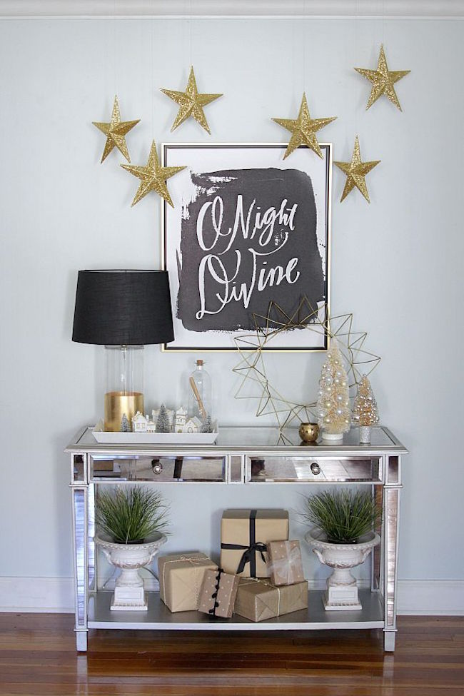Top 40 Elegant Black And Gold Christmas Decoration Ideas - Christmas ...