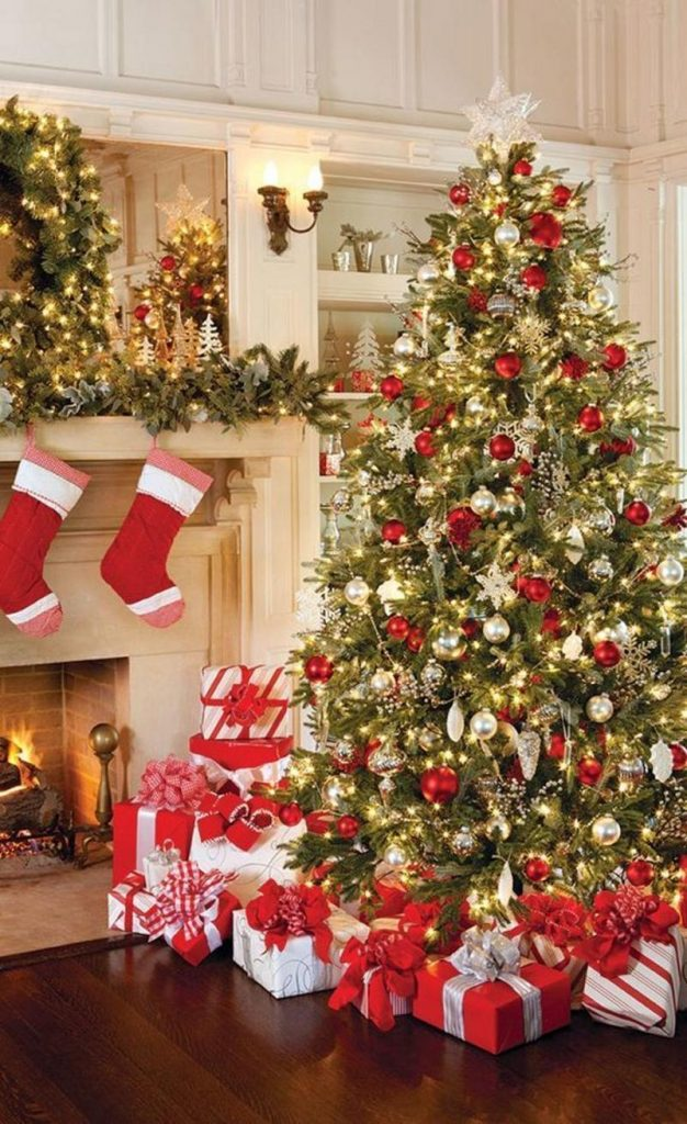 no christmas decoration is complete without a christmas tree and what more fabulous way to decorate a christmas tree than hanging those red christmas