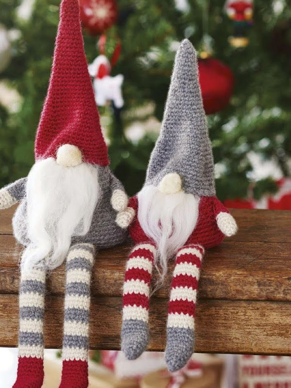 Simple Knitting Patterns Christmas Decorations : Top 40 Cozy Knitted Christmas Decorations - Christmas Celebrations