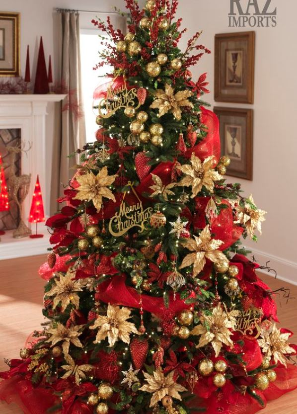 Top Red And Gold Christmas Decor Ideas – Christmas Celebration