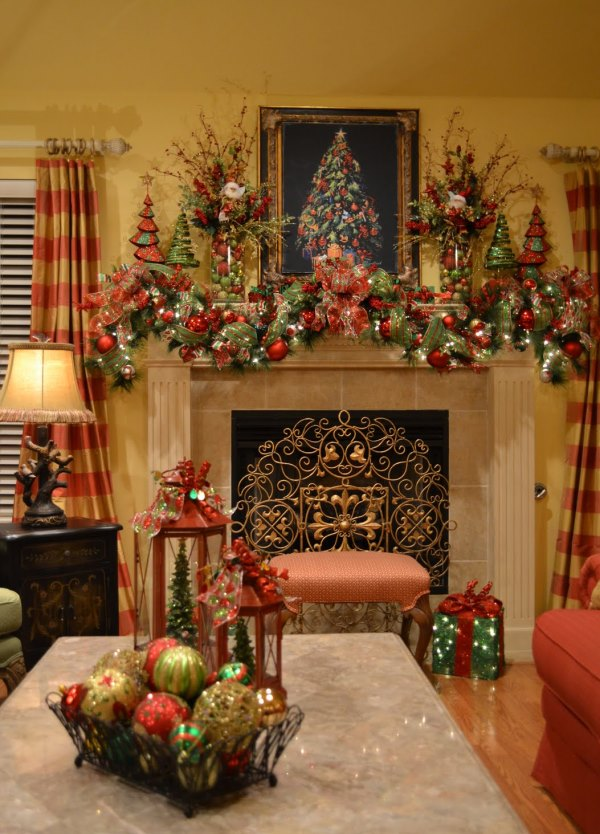 Top Red And Gold Christmas Decor Ideas - Christmas Celebration - All ...