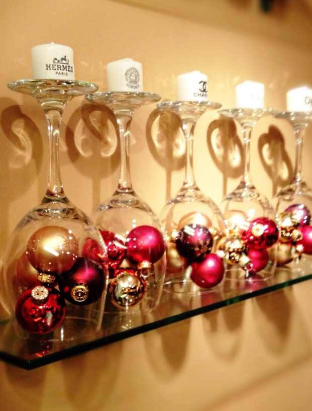 source - Red Gold And Silver Christmas Decorations