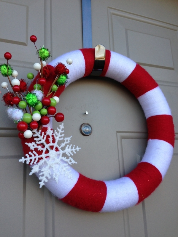 Candy Cane Christmas Decorations Ideas Source