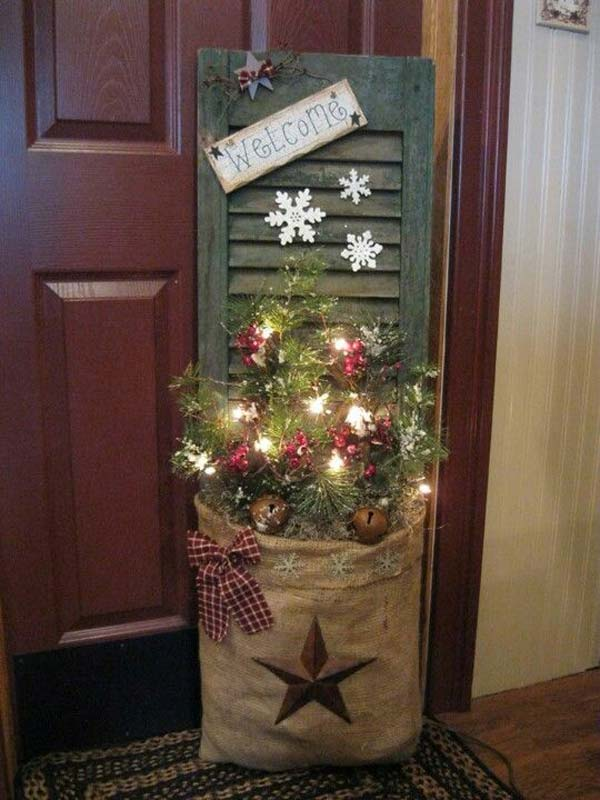 Front Door Rustic Decoration Source