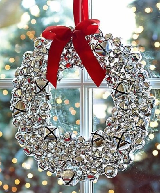 Christmas Bells Decorations Christmas Celebration All About Extraordinary Decorative Jingle Bells