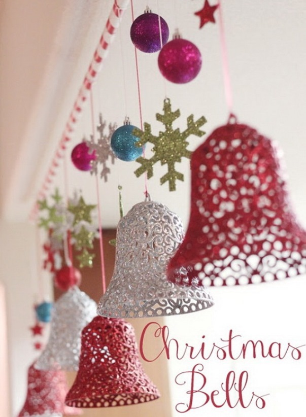 Christmas Bells Decorations Christmas Celebration All About Beauteous Decorative Jingle Bells