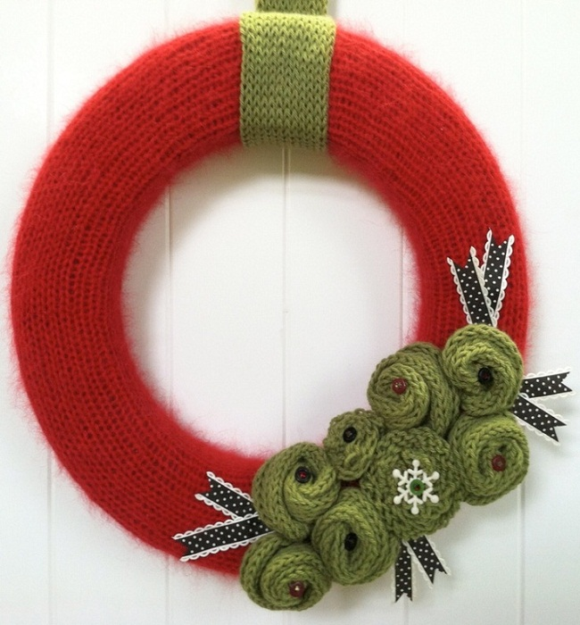 Top Knitted Christmas Decorations