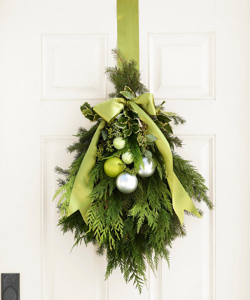 source - Lime Green Christmas Tree Decorations