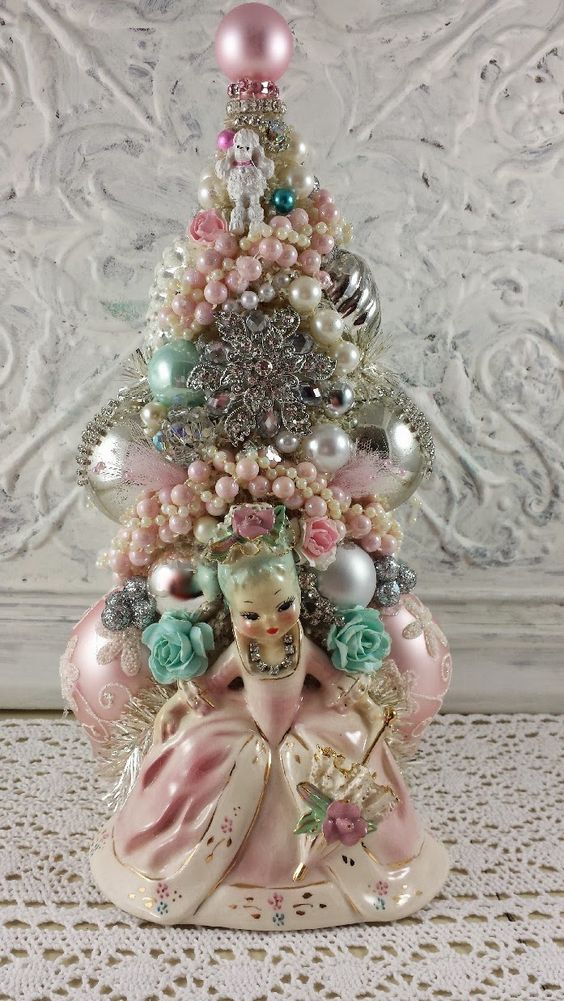 Vintage Christmas Tree Decorations