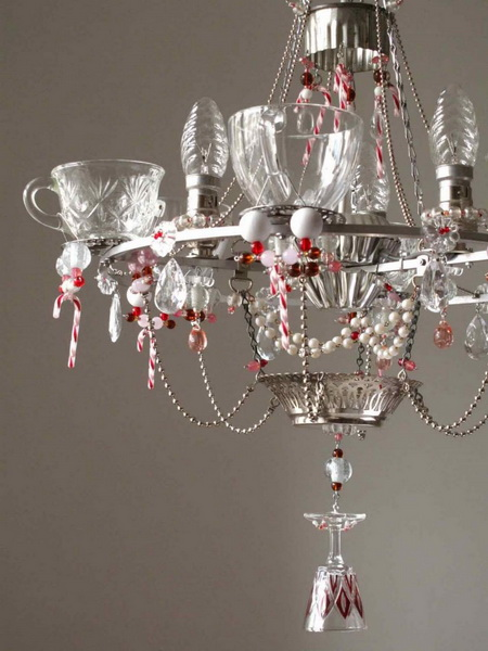 Top 40 christmas chandelier decoration ideas christmas celebration source aloadofball Choice Image