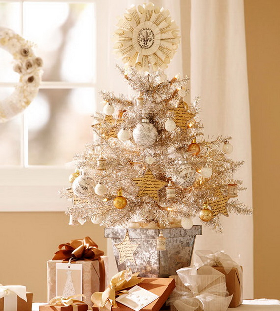 Top 40 Tabletop Christmas Tree Decoration Ideas - Christmas ...