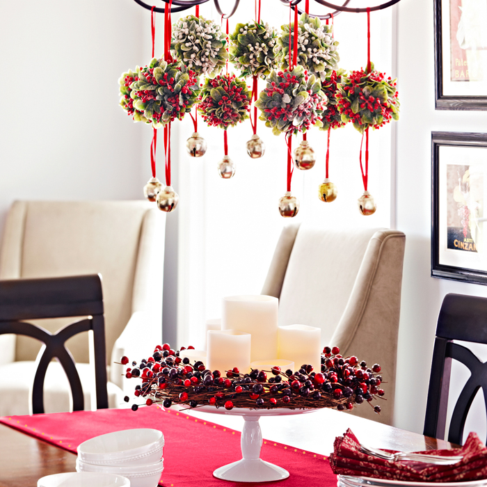 Christmas Decorating top 40 christmas chandelier decoration ideas - christmas celebrations