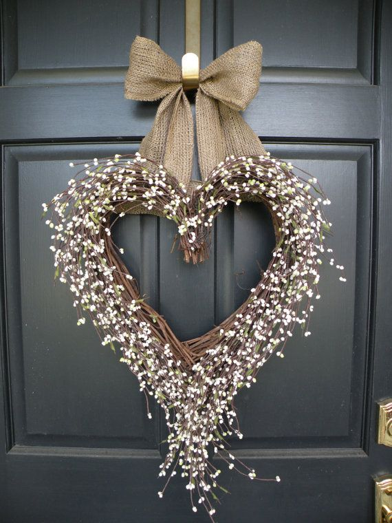 shabby chic burlap wreath source