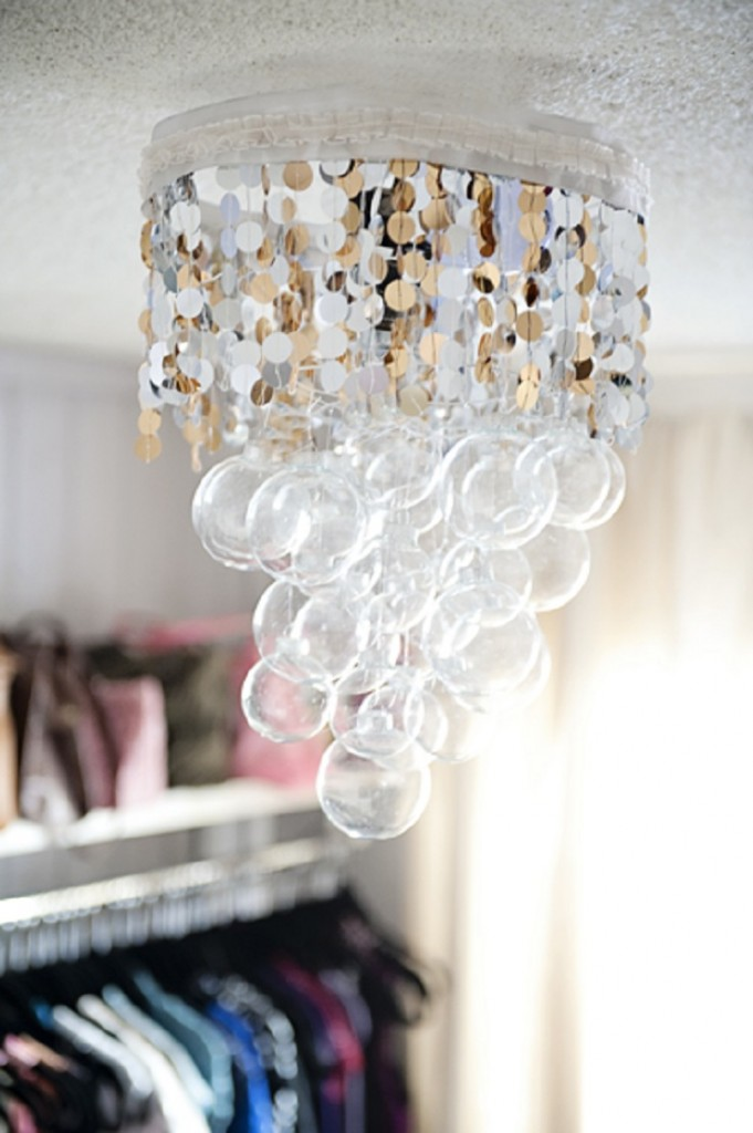 Top 40 christmas chandelier decoration ideas christmas celebration lovely handmade chandelier source mozeypictures Gallery