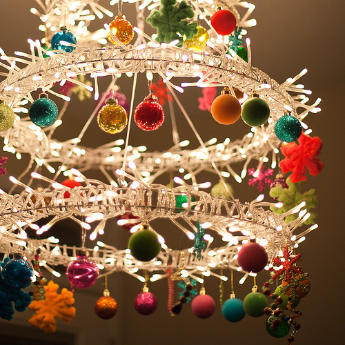 source - Christmas Chandelier Decorations