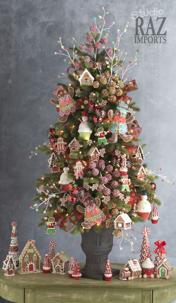 Top 40 Tabletop Christmas Tree Decorations - Christmas Celebration - All about Christmas